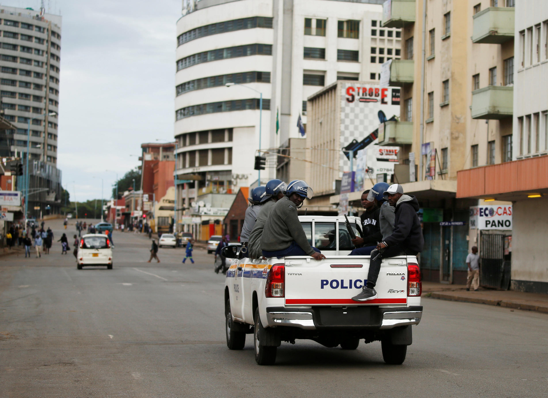 Selon des chiffres officiels, les forces de sécurité zimbabwéennes ont arrêté 600 personnes en trois jours.