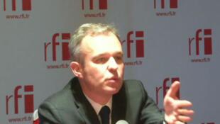 François de Rugy, député EELV, coprésident du groupe écologiste à l'Assemblée nationale.