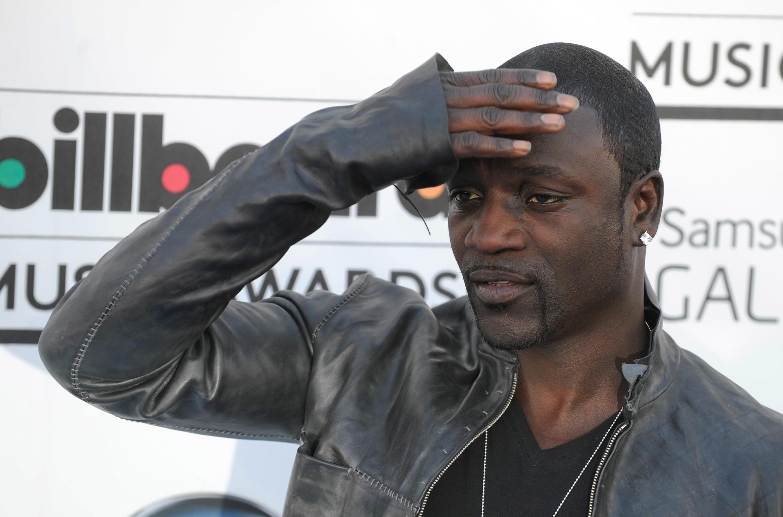 Le chanteur de R'n'B Akon.