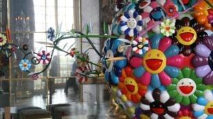 «Цветок Матанго» в Зеркальной Галерее Версальского дворца