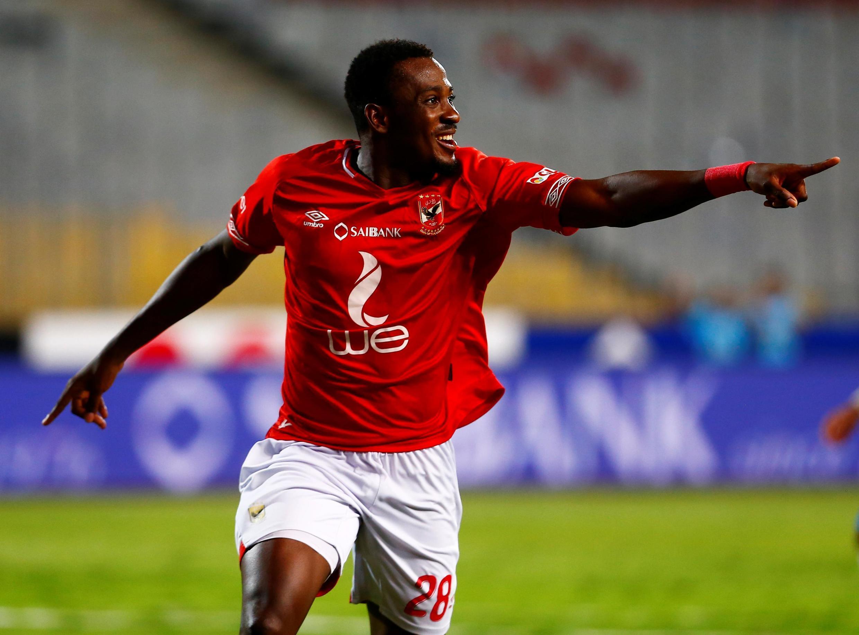 Junior Ajayi, l'attaquant nigérian d'Al-Ahly.