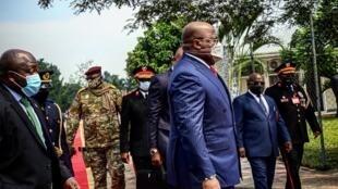Félix Tshisekedi - école de guerre - RDC - Kinshasa - inauguration