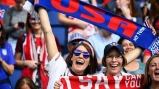 Les Américains ont acheté 15% des billets pour assister aux matches du Mondial féminin.