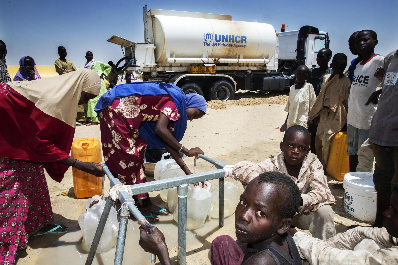 Le camp de Kabelawa, à deux heures au nord de Diffa a déjà accueilli 2 500 déplacés nigériens évacués des îles du lac Tchad.