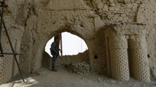 La mosquée Noh Gonbad (sur la photo) est une découverte archéologique majeure que le gouvernement afghan espère bien parvenir à faire inscrire au patrimoine mondial de l'Unesco.