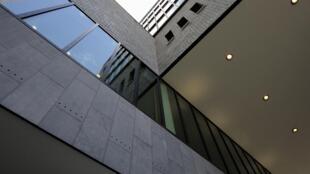 Trụ sở Europol tại La Haye, ảnh chụp ngày 01/07/2011.