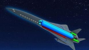 Imagens do projeto do novo avião da EADS foram divulgadas na véspera da inauguração do Salão do Bourget.