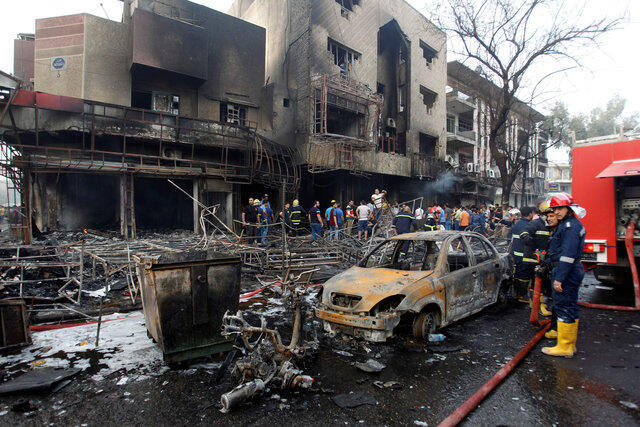 Теракт в Багдаде 3 июля 2016 года