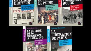 La collection «Récits d'historien» a accueilli cette année cinq nouveaux titres dont «La Toussaint rouge» sous la plume de l'africaniste Jean-Pierre Bat.