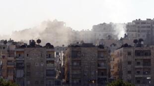 El barrio de Seif al-Dawla de Alepo, este 22 de agosto de 2012.