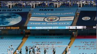 Filin wasa na Etihad da ke zama gidan Manchester City