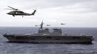 Khu trục hạm JS Hyuga của Hải quân Nhật Bản (Ảnh : US Navy)