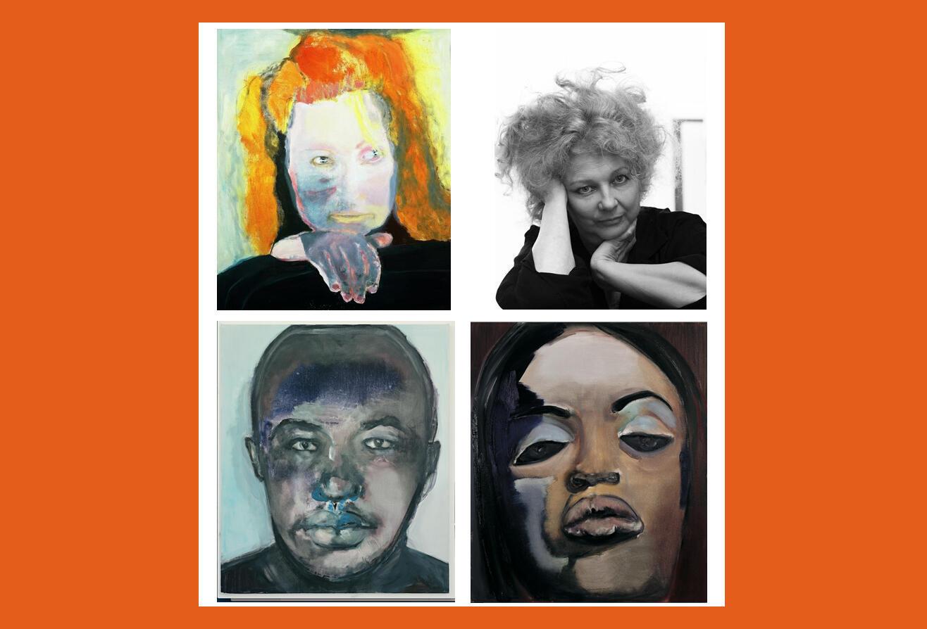 La Sud-Africaine Marlene Dumas (en haut à droite) est une des artistes africaines les mieux cotées ces dernières années. Sa «Night nurse» est l'oeuvre africaine qui s'est vendue au plus fort prix en 2016.