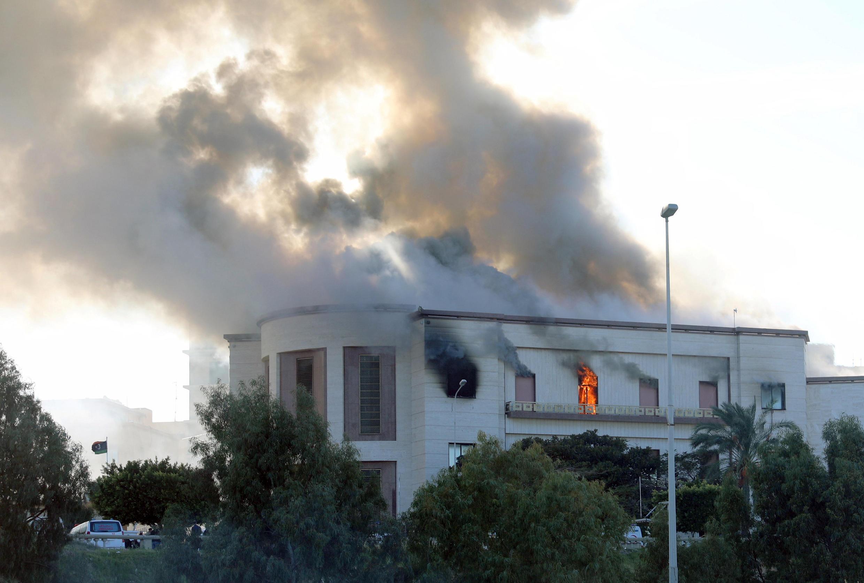 Здание МИД Ливии. Триполи. 25.12.2018