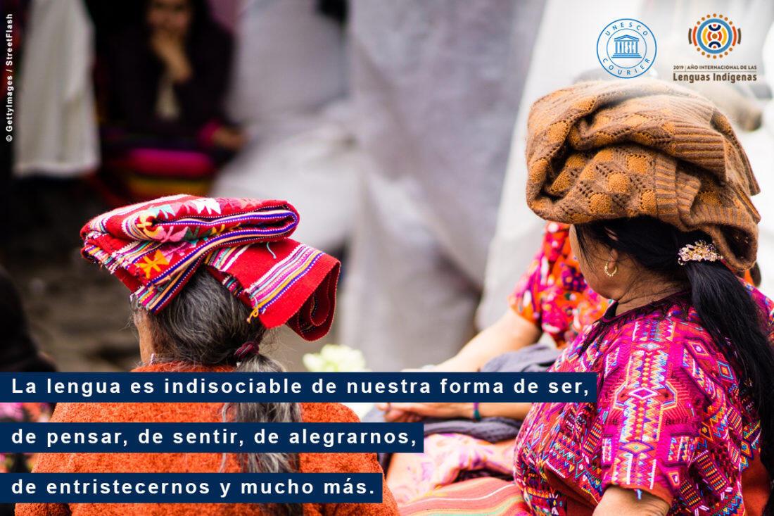 Los idiomas indígenas representan sistemas complejos de conocimientos y comunicación.