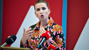 Mette Frederiksen, candidata socialdemócrata a PM