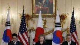 日美韩将举行三国外长会议