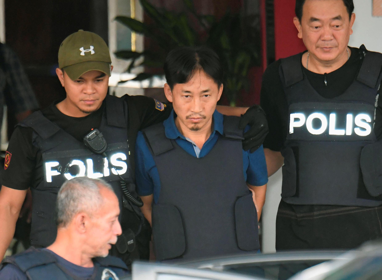 Ri Jong Chol, nghi can Bắc Triều Tiên duy nhất bị Malaysia bắt trong vụ án Kim Jong Nam, được thả ngày 03/03/2017.