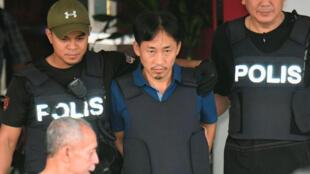 馬來西亞釋放並驅逐了涉金正男遇刺案的朝鮮人李正哲 3, 3, 2017,