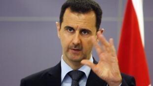 Le président syrien Bachar el-Assad.