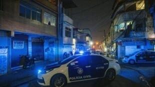 Des patrouilles de police dans les favelas de Rio de Janeiro, en octobre 2019.