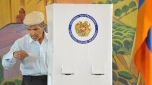 Голосование на парламентских выборах в Армении, 6 мая 2012 года.