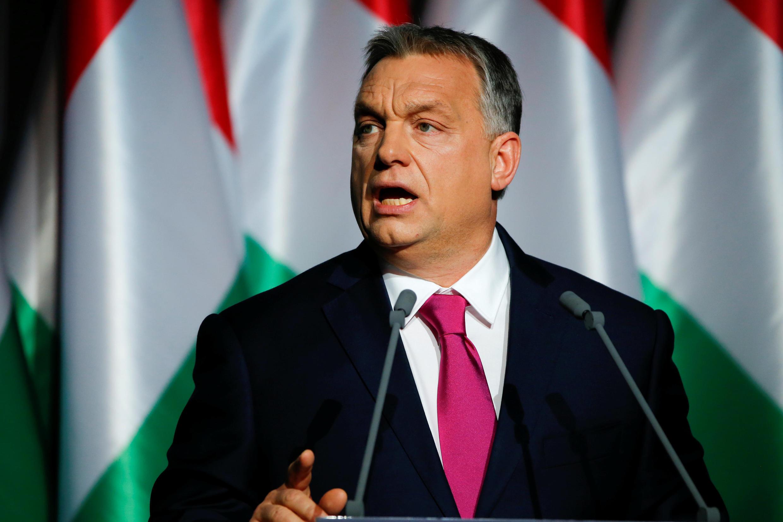 Thủ tướng Hungary, Viktor Orban, tại Budapest ngày 10/02/2017.