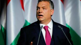 Le Premier ministre hongrois Viktor Orban, le 10 février 2017 à Budapest.