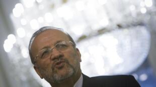 Le ministre des Affaires étrangères iranien, Manouchehr Mottaki.