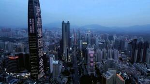 中國深圳資料圖片