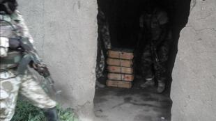 Wani wuri da aka gano da tarin makaman Boko Haram a dajin Sambisa