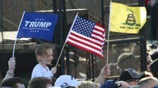 No Texas, o candidato Donald Trump é favorito.