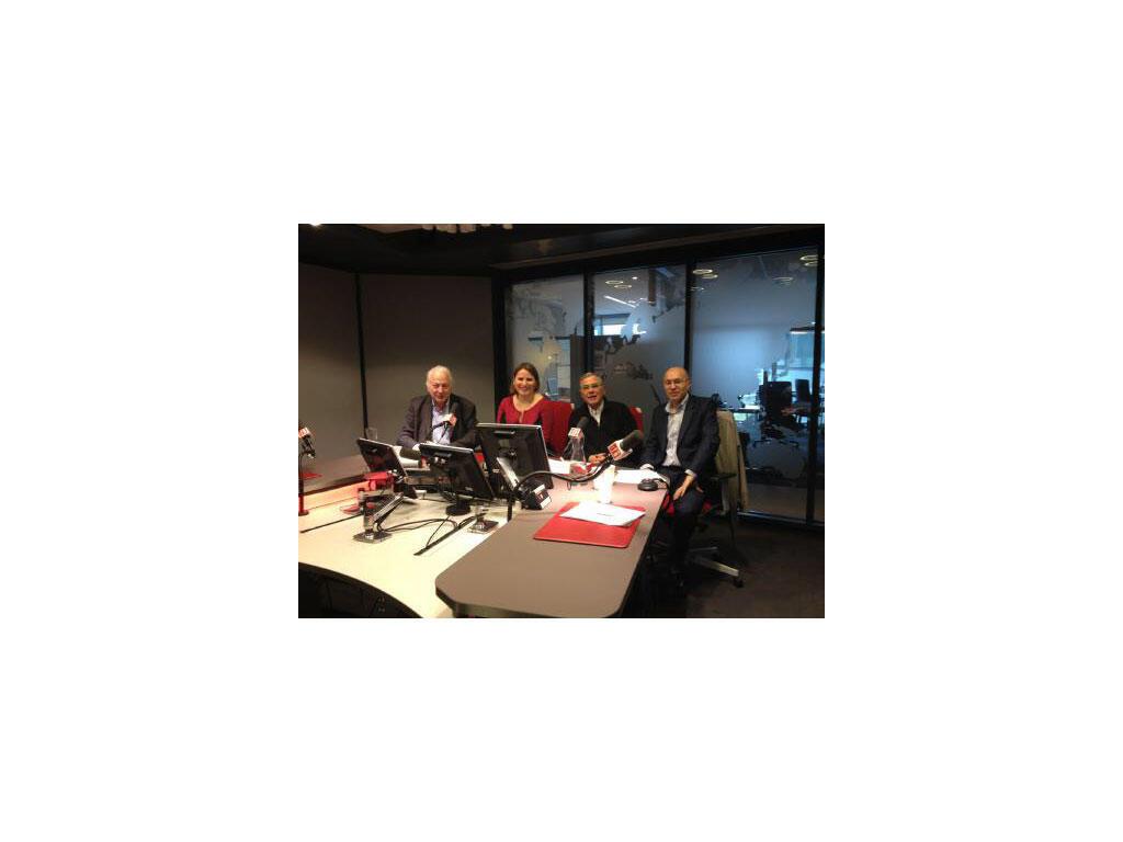 Jean-Paul Gauzès, Valérie Rabault, Daniel  Desesquelle, Christian Chavagneux.