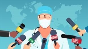 illustration santé dans les médias