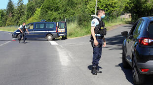 More than 300 officers took part in the search of dense woods in the Dordogne region of southwest France.