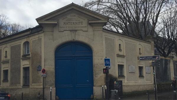 Maternité, Boulevard Port Royal, Paris.