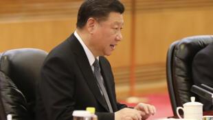 4月1日,中國國家主席習近平在北京人民大會堂。