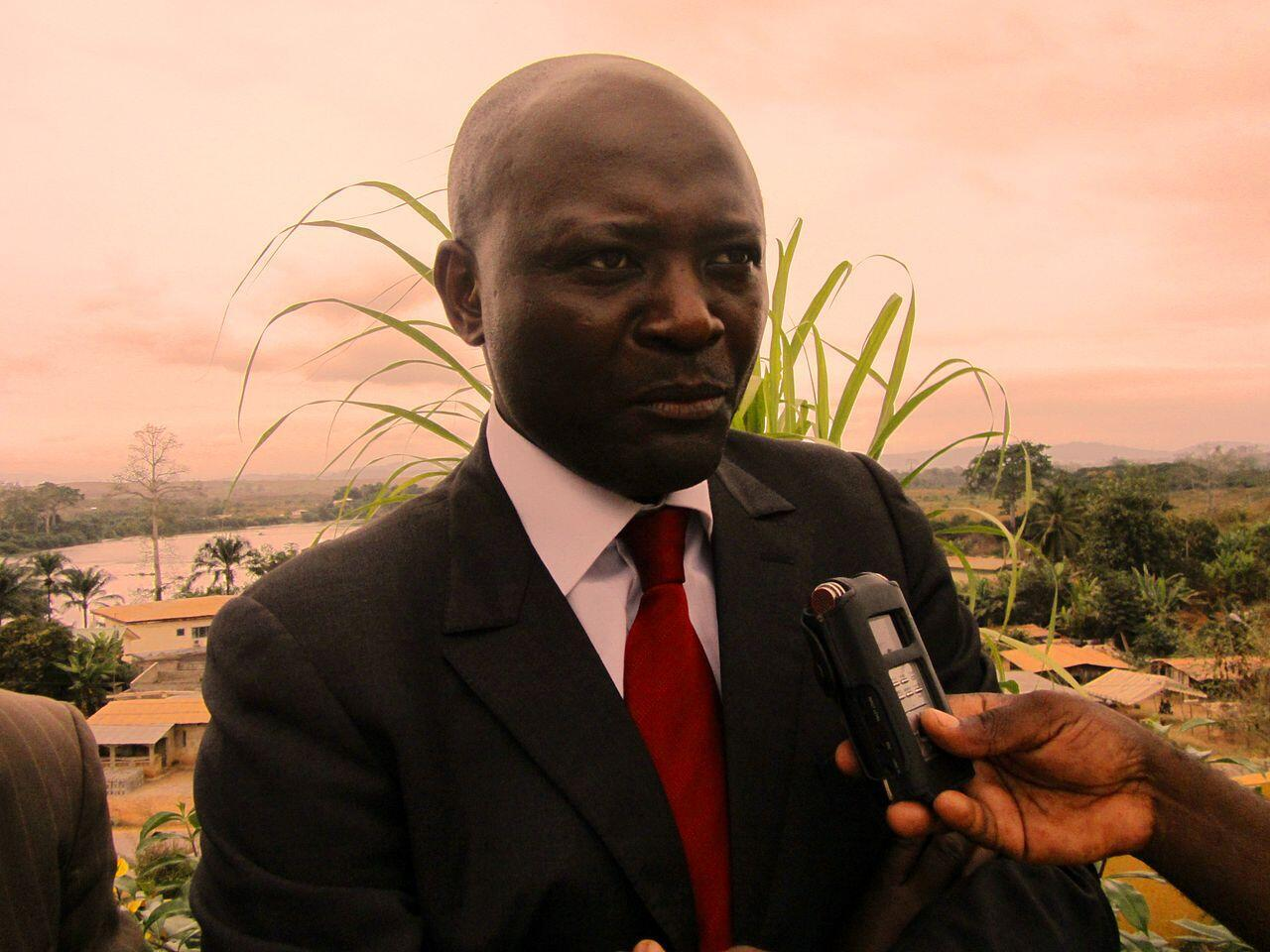 Bruno Ben Moubamba, le 9 août 2012.