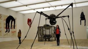 Une des installations de la nouvelle tour, appelée « Switch House », de la Tate Modern à Londres.