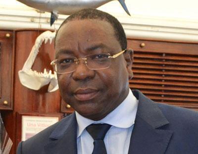 Mankeur Ndiaye, ministre sénégalais des Affaires étrangères.