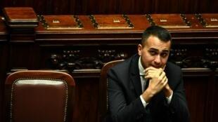 Mataimakin Fira Ministan Italiya, Luigi Di Maio.