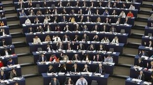 Phiên họp toàn thể của Nghị viện Châu Âu tại Strasbourg - REUTERS /Vincent Kessler