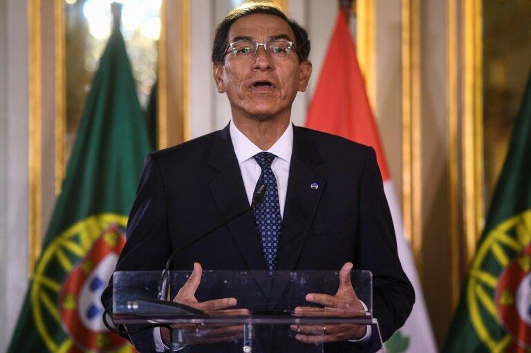 El presidente de Perú, Martín Vizcarra, anfitrión de la cumbre de la Comunidad Andina de Naciones (CAN)