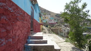 Les collines qui entourent Kaboul se parent de couleur.