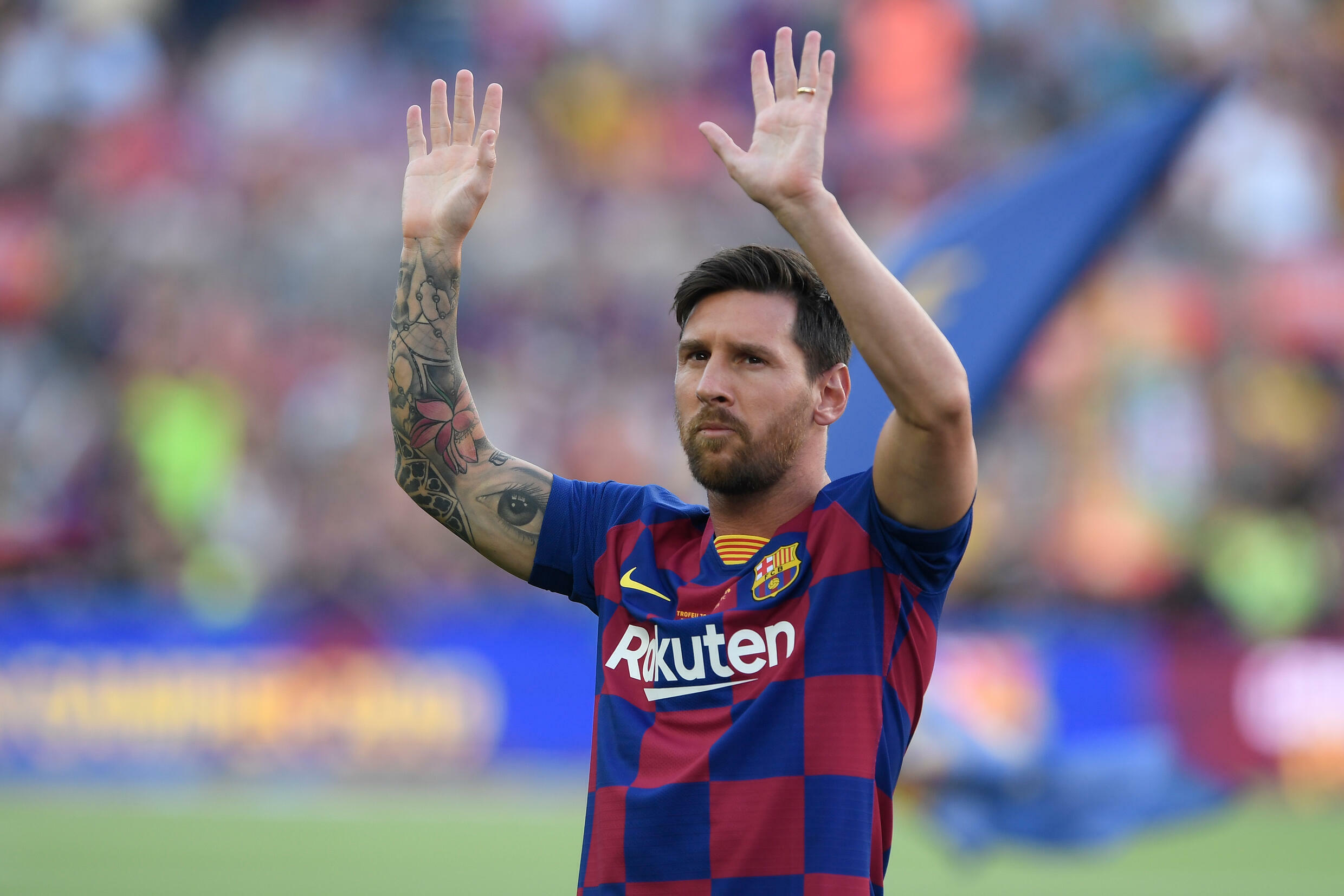Time to say goodbye? Lionel Messi will hold a press conference with Barcelona on Sunday