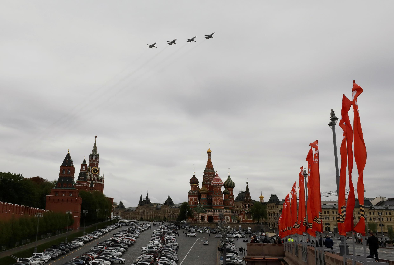 Воздушный парад в Москве. 09.05.2020