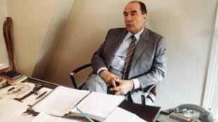 Кандидат в президенты Франции Франсуа Миттеран, апрель 1981 г. (архив)