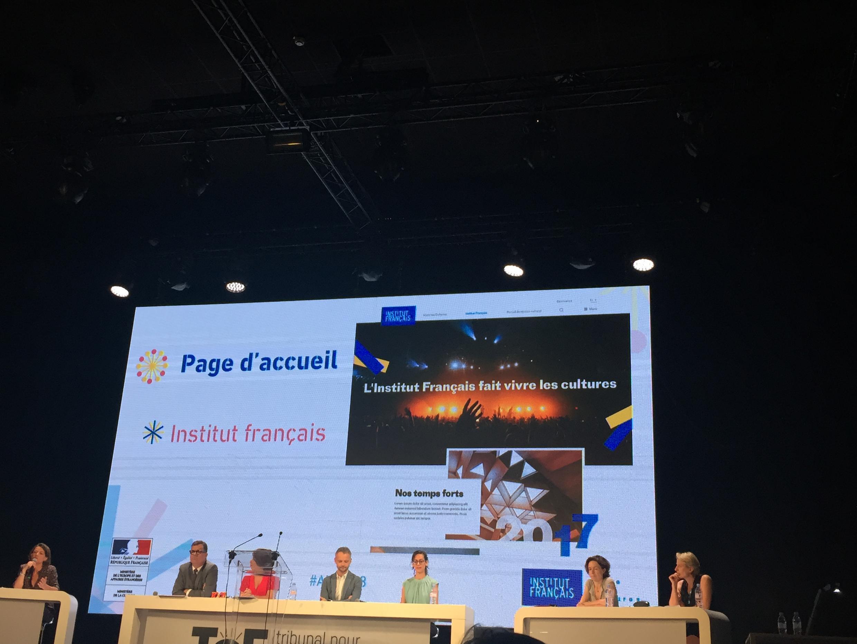 Giới thiệu website mới của Viện Pháp (Institut français), ngày 18/07/2018.