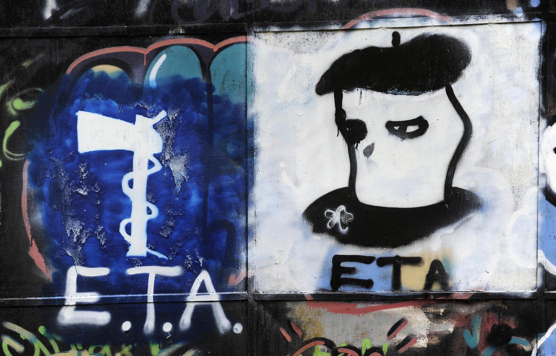 Pro-Eta graffiti  in the Spanish Basque country