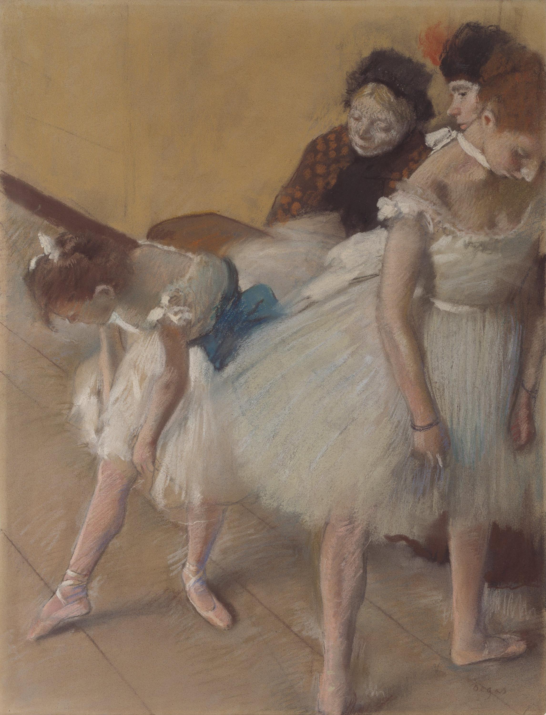 «Экзамен». Эдгар Дега. Пастель. 1880. Из собрания Художественного музея Денвера (США)